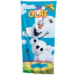 Disney Frozen ''I'm Olaf'' Beach Towel
