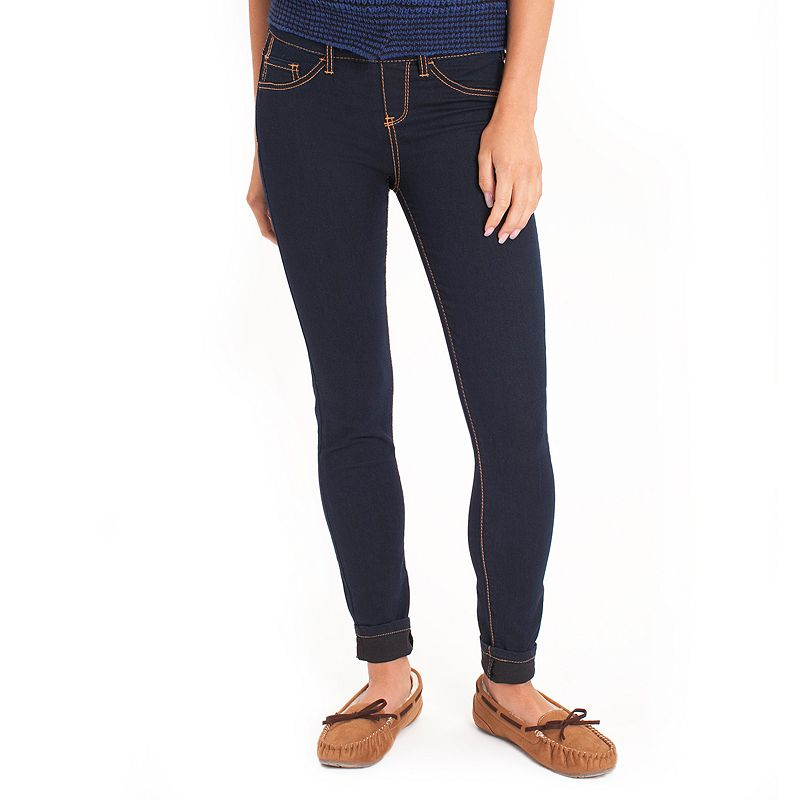 Unionbay Infinity Skinny Jeans - Juniors (Blue)