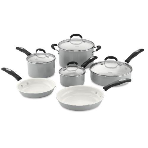 Cuisinart 10-pc. Nonstick Ceramic Cookware Set