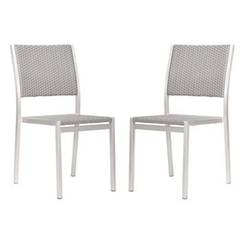 Zuo Vive Metropolitan 2-pc. Dining Chair Set - Outdoor