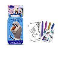 Disney Frozen Olaf Fun On the Go Activity Set