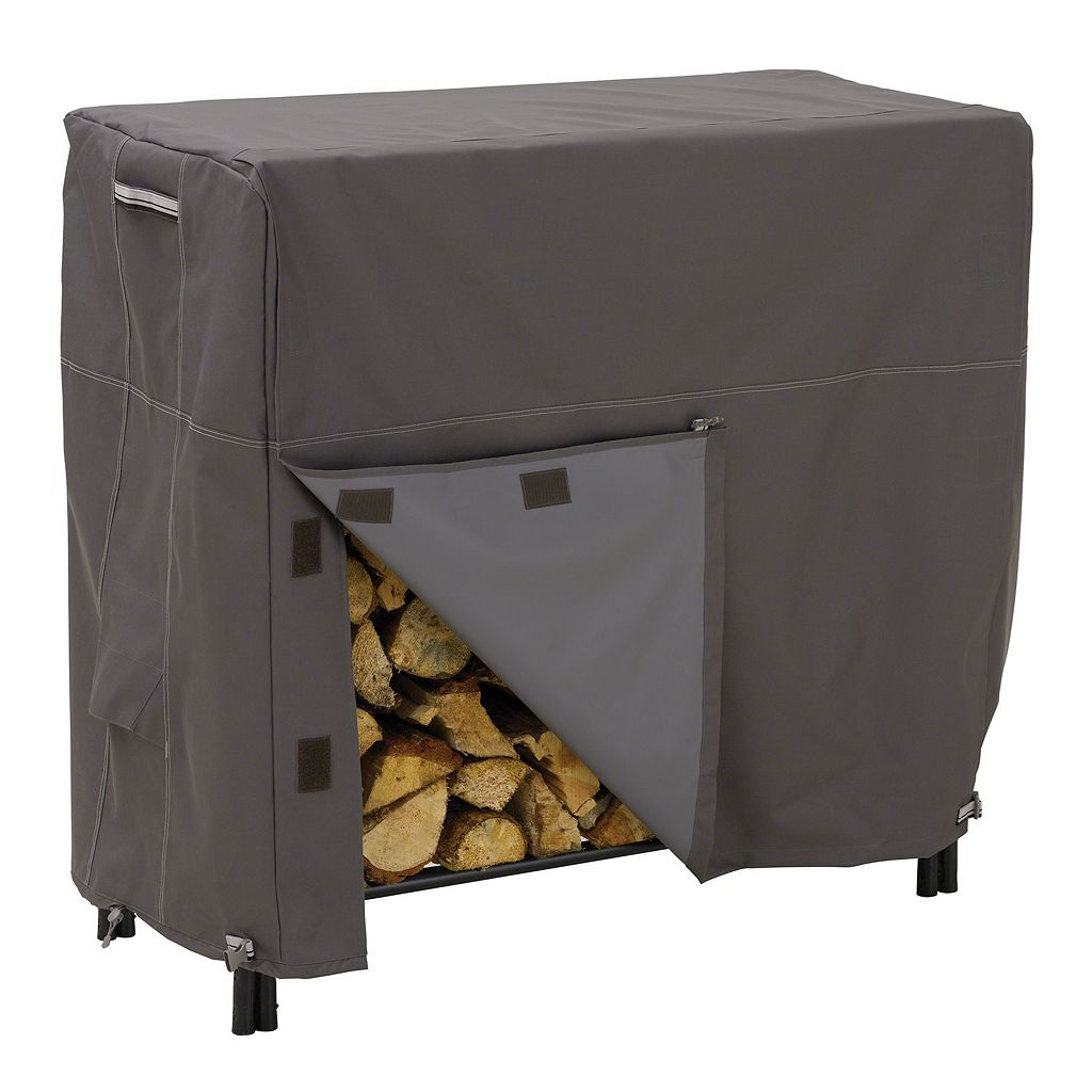 Classic Accessories Ravenna Large Log Rack Cover - Outdoor