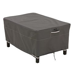 Classic Accessories Ravenna Small Rectangular Ottoman Cover - Outdoor