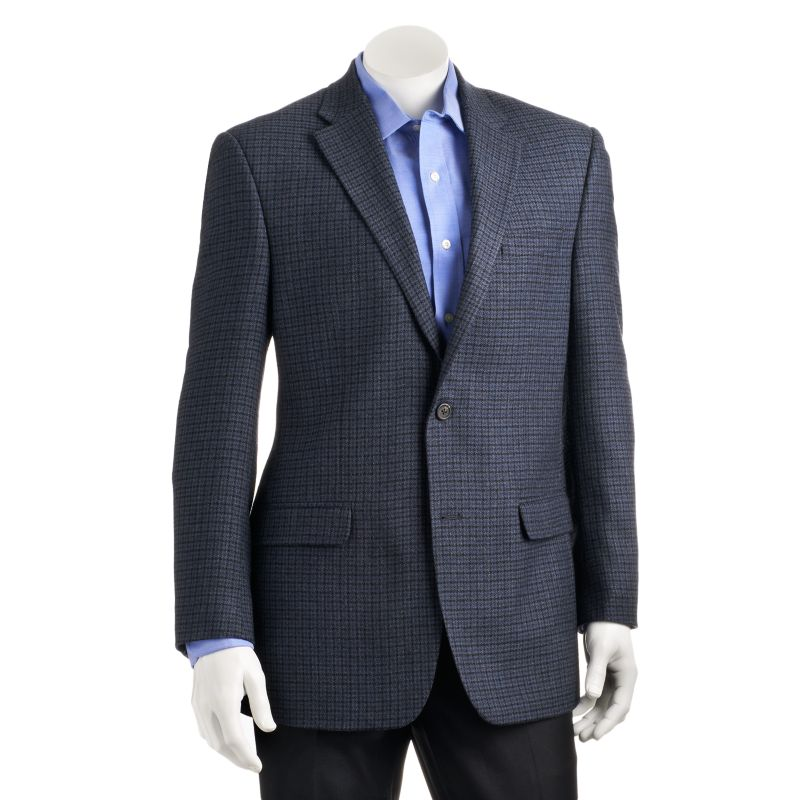 Madison Fit Navy Twill Sport Coat 2014