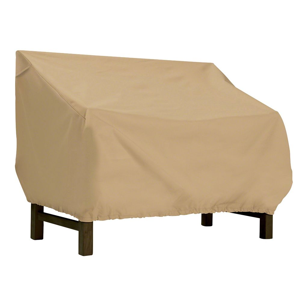 Classic Accessories Terrazzo Patio Bench Cover - Outdoor
