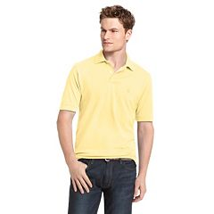 Big & Tall IZOD Heritage Solid Pique Polo