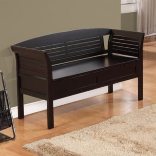 Simpli Home Arlington Storage Bench