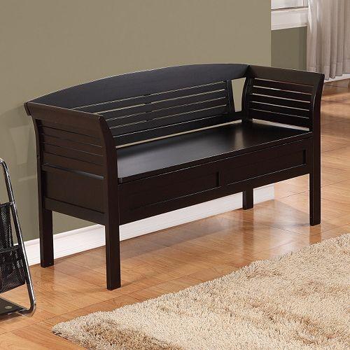 Simpli Home Arlington Storage Bench