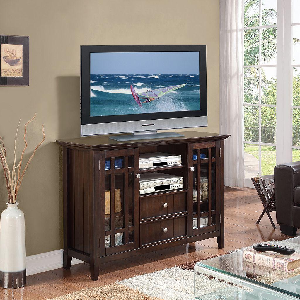 Simpli Home Bedford TV Media Stand
