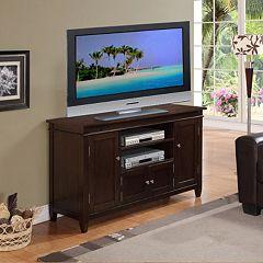 Simpli Home Carlton TV Media Stand