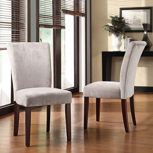 Homevance 2 Pc Riley Side Chair Set
