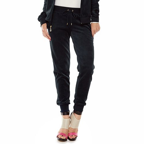 Juicy Couture Velour Jogger Pants - Women s e6a1704de