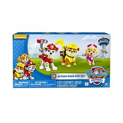 Paw Patrol Marshall, Skye & Rubble Action Pack Pup Set by Spin Master