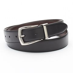 Croft & Barrow Soft Touch Reversible Belt - Men