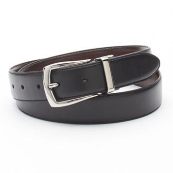 Croft & Barrow Soft Touch Reversible Belt - Men