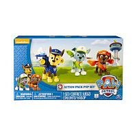 Paw Patrol Rocky, Chase & Zuma Action Pack Pup Set by Spin Master