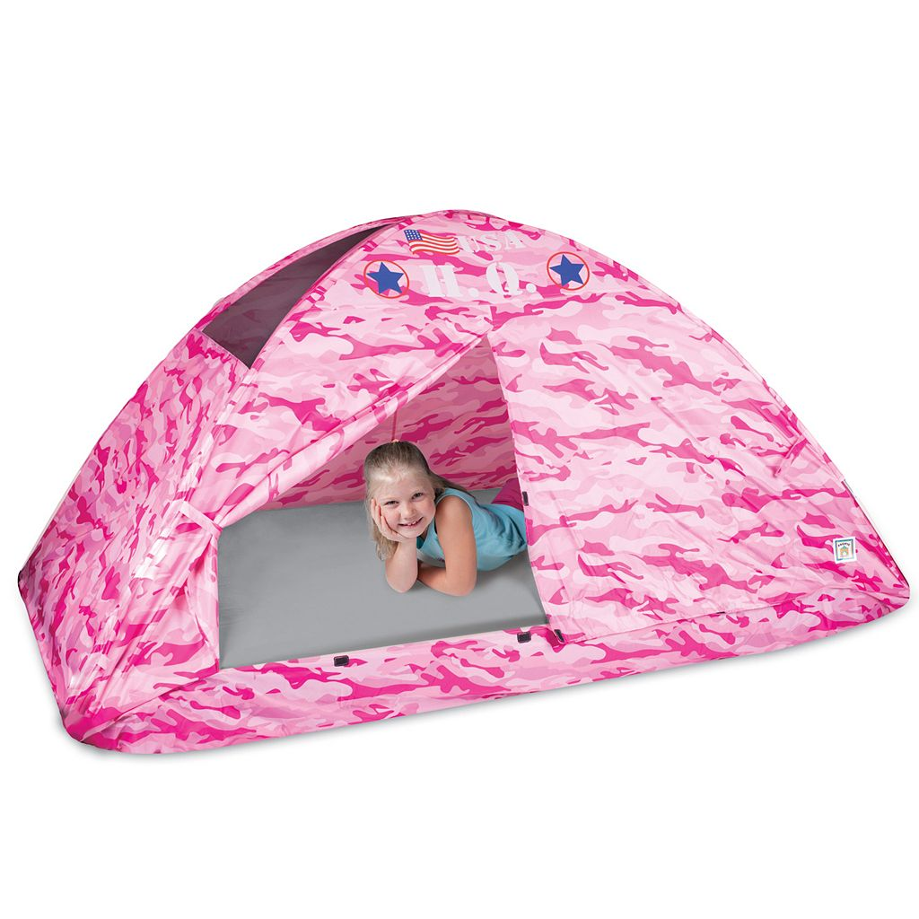 Pacific Play Tents Pink Camo Bed Tent