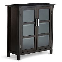 Simpli Home Kitchener Storage Cabinet