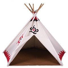 Pacific Play Tents Cotton Canvas Teepee Tent