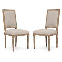 Zuo Era 2 pc Cole Valley Dining Chair Set