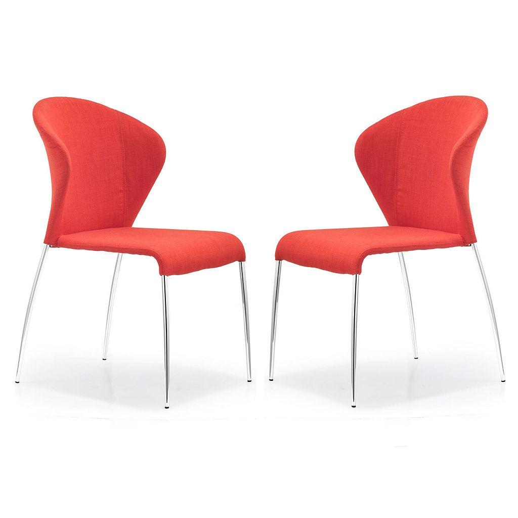 Zuo Modern 2-piece Oulu Chair Set