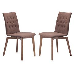 Zuo Modern 2 pc Orebro Chair Set