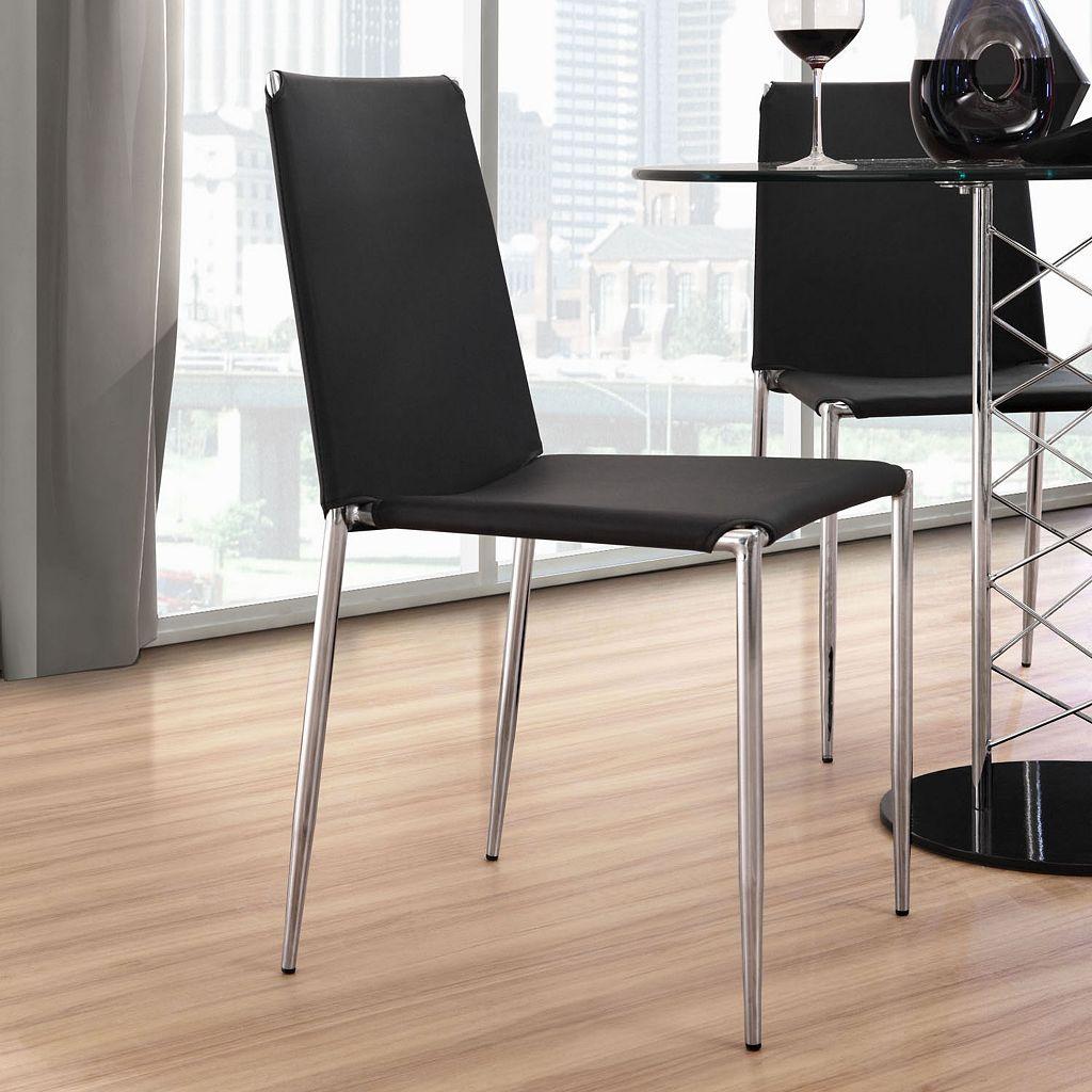 Zuo Modern 4-piece Alex Dining Chair Set