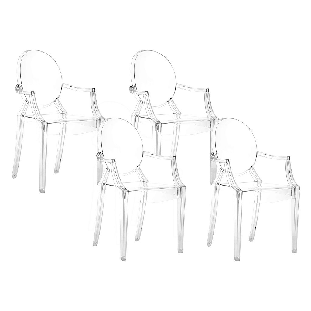 Zuo Modern 4-piece Anime Dining Chair Set