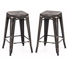 Zuo Modern Marius 2 pc Counter Stool Set