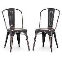 Zuo Modern Elio 2-pc. Chair Set