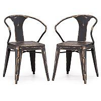 Zuo Modern Helix 2 pc Chair Set
