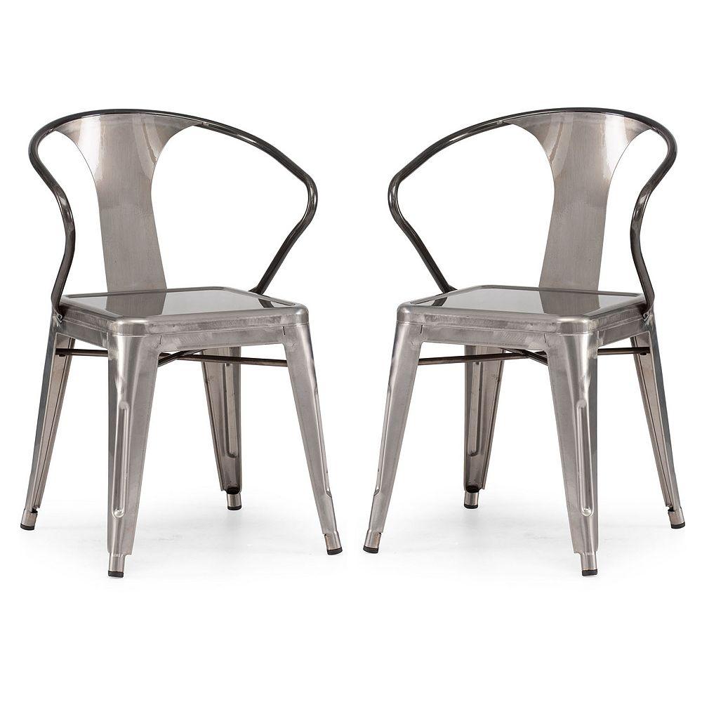 Zuo Modern Helix 2-pc. Chair Set