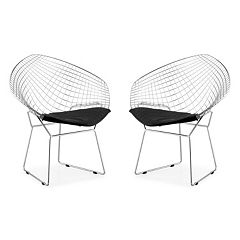 Zuo Modern 2-pc. Net Dining Chair Set