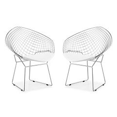 Zuo Modern 2 pc Net Dining Chair Set