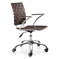 Zuo Modern Crisscross Desk Chair
