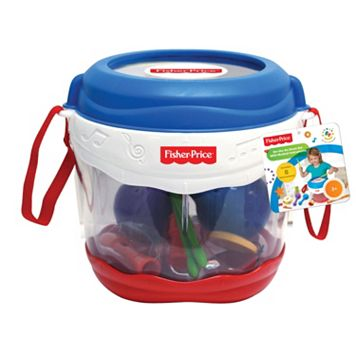 Fisher-Price Drum Set with Instruments