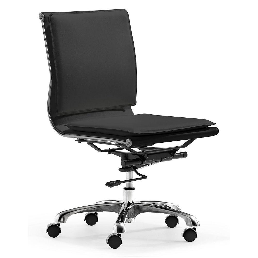 Zuo Modern Lider Plus Armless Desk Chair