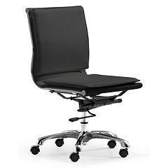 Zuo Modern Lider Plus Armless Desk Chair
