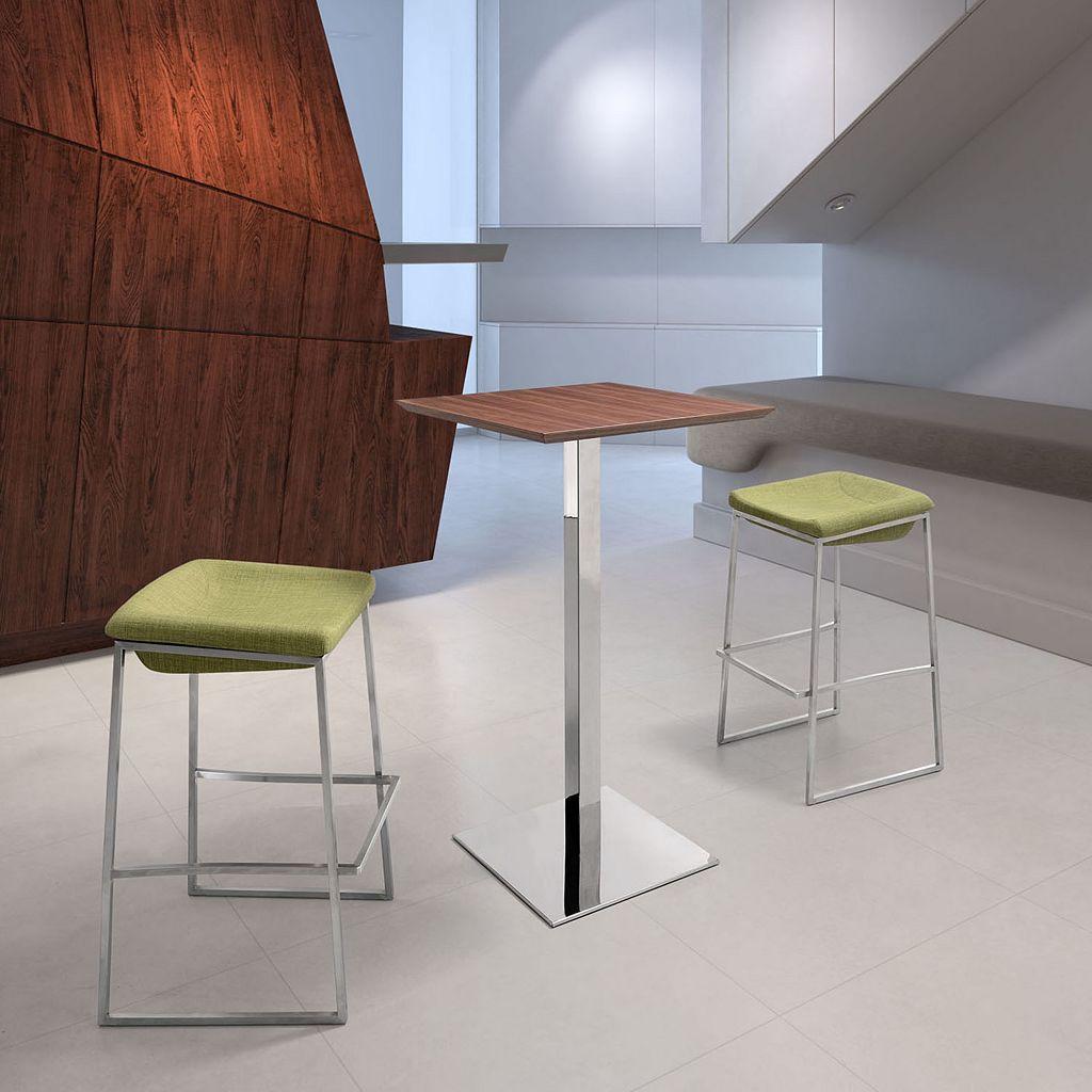 Zuo Modern 2-piece Lids Bar Stool Set