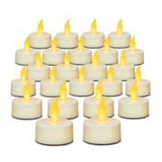 Inglow 24 pc Flameless LED Tealight Set