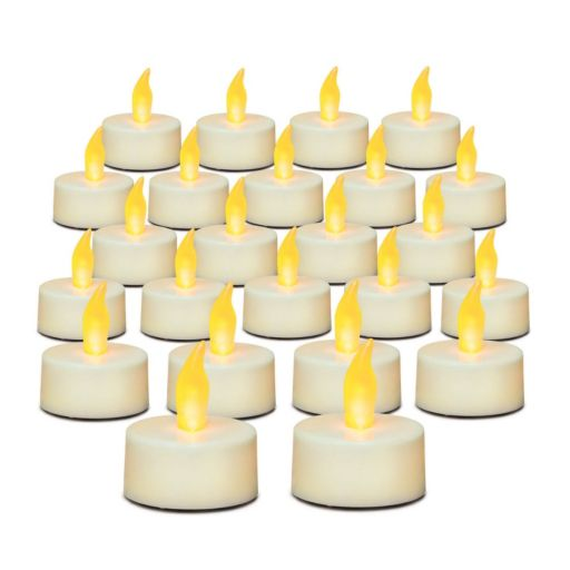 Inglow 24-piece Flameless LED Tealight Set
