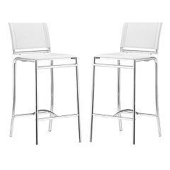 Zuo Modern 2 pc Soar Bar Chair Set