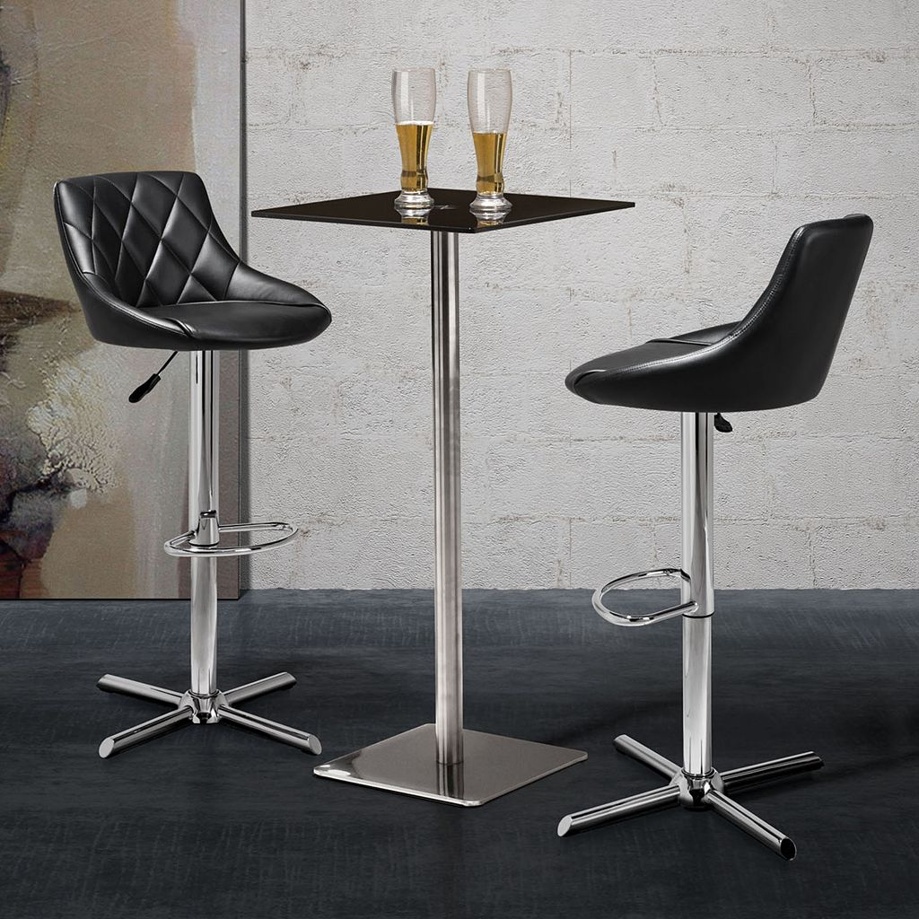 Zuo Modern Devilin Adjustable Swivel Stool