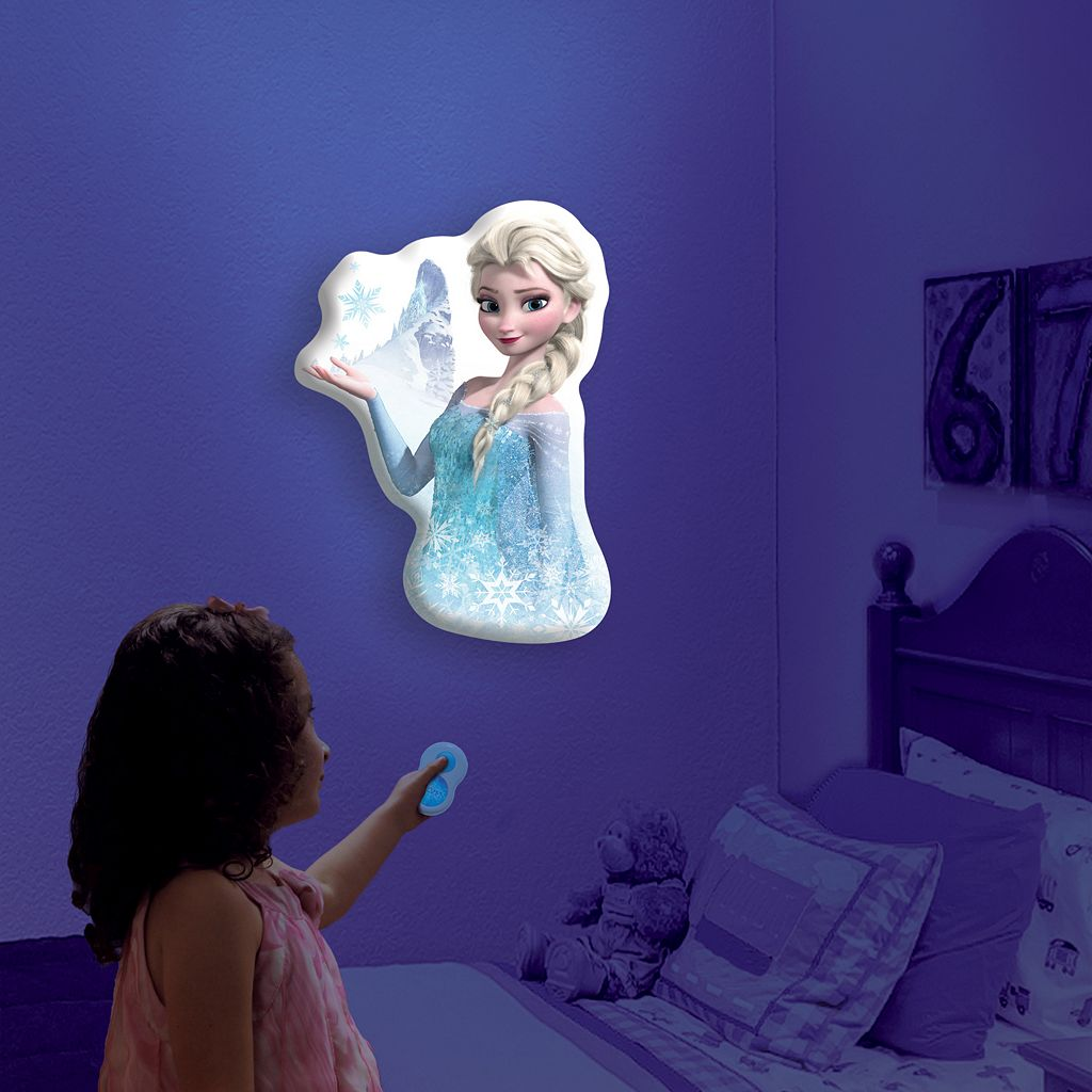 Disney Frozen Elsa Wall Friends Interactive Character Light by Uncle Milton