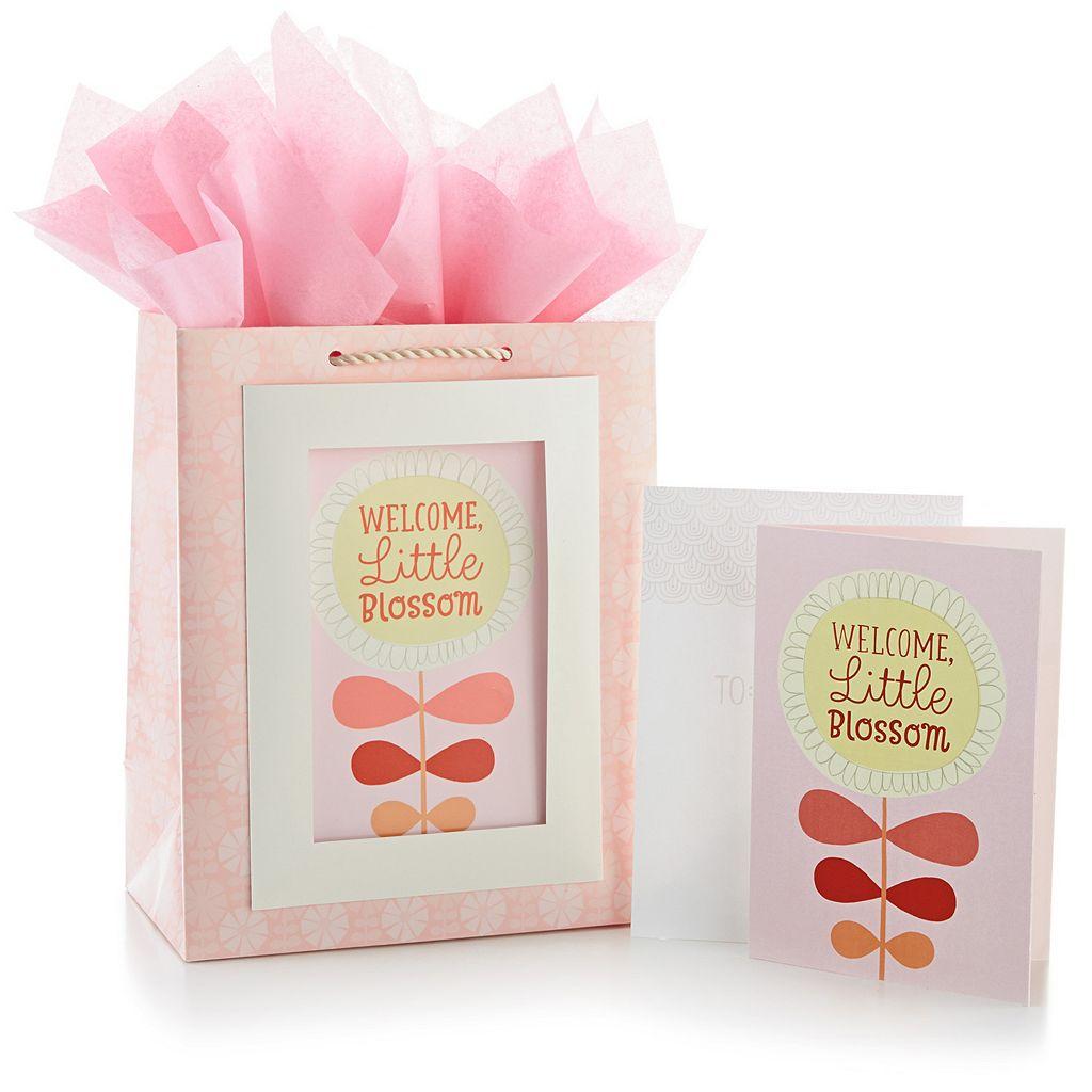 Hallmark Blossom Gift Bag & Card Set