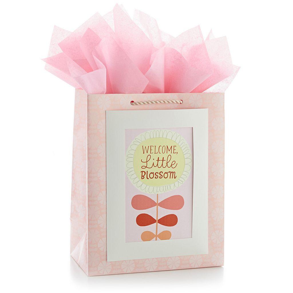 Hallmark Blossom Gift Bag and Card Set