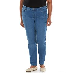 Plus Size Lee Easy Fit Straight-Leg Jeans