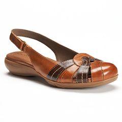 NaturalSoul by naturalizer Civil Women's Slingback Sandals