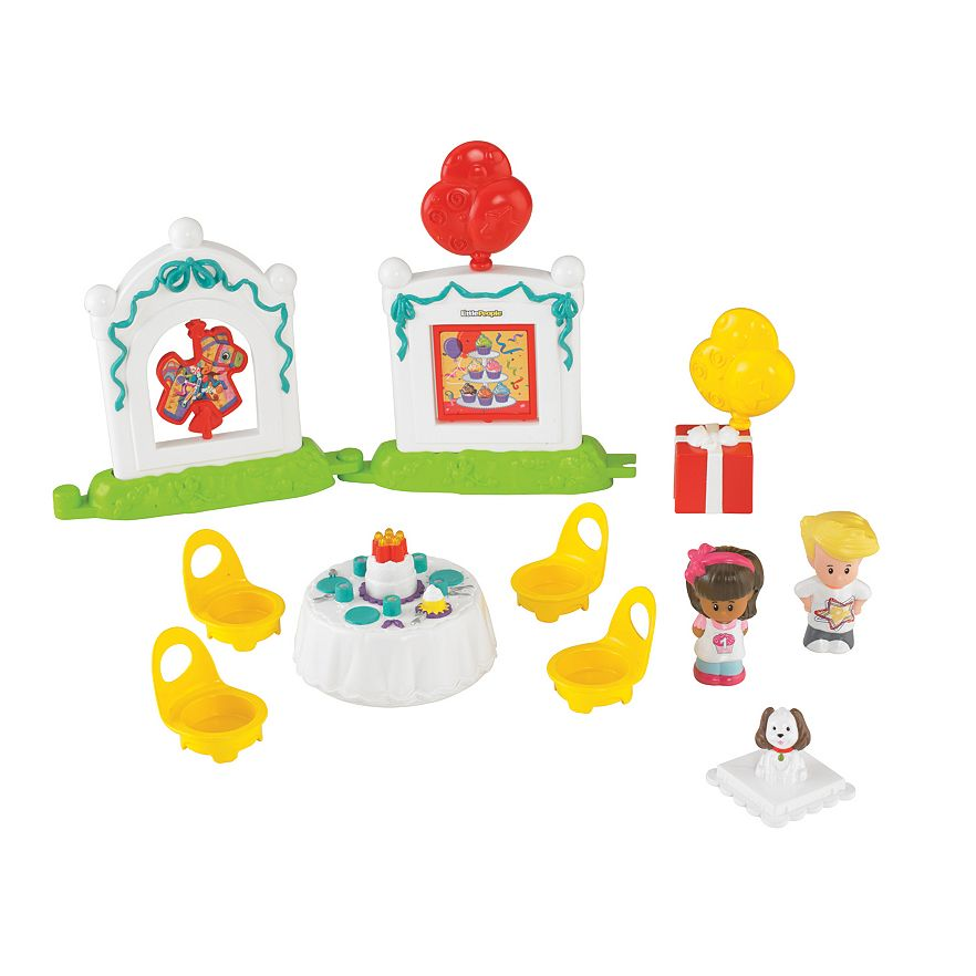 Fisher Price Little People Birthday Party Set Ebay