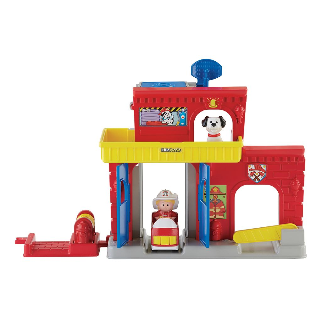 Little People Wheelies Fire Station by Fisher-Price